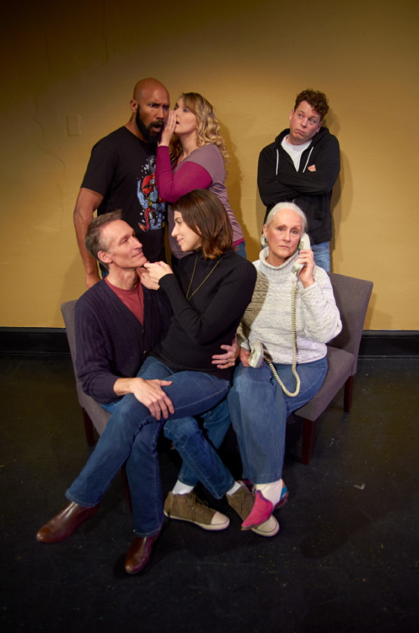 Promotional Photo, The Old Garde at Boulevard Ensemble Studio Theatre Nov 21-Dec 1, photo credit: Troy Freund